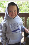 Child in CDF Hoodie