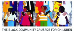 The Black Community Crusade for Children logo